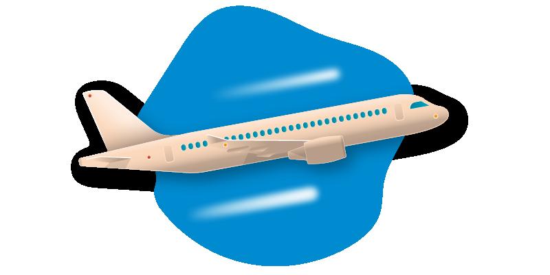 fly, flyv på skiferie, ski, skiferie, transport