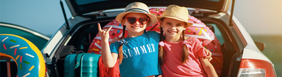 Kør-selv-ferie med familien