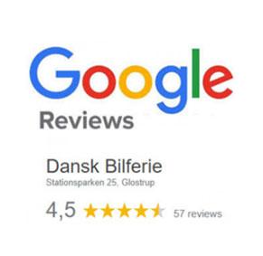Google anmeldelser / reviews - Dansk Bilferie