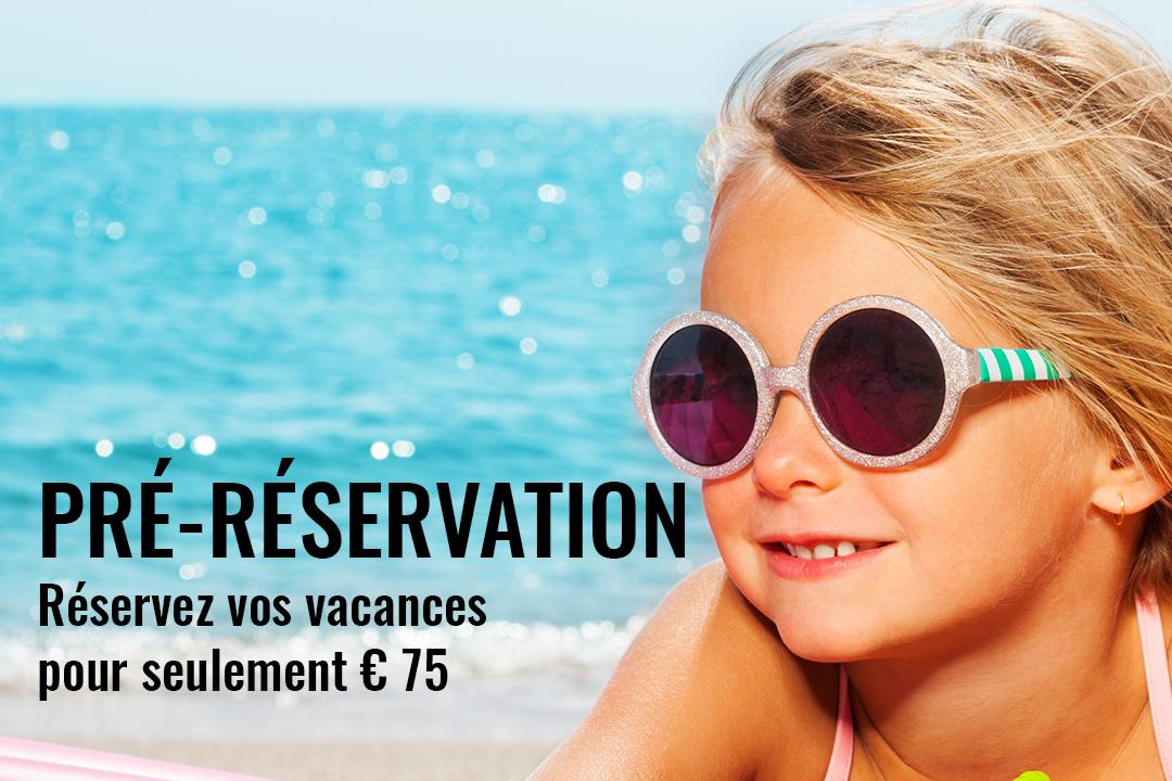 Pré-réservation 2022