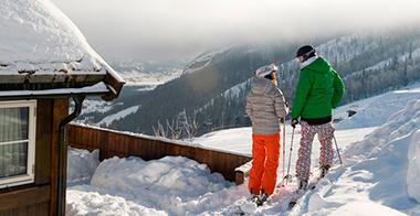 skiferie, ski-in, ski-out, tæt på pisten