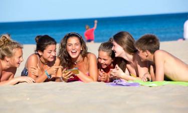 Oplev camping i Frankrig med teenagere