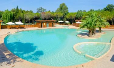 Pool Camping Campo Dei Fiori in der Toskana