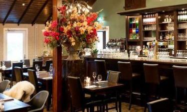 Restaurant, snackbar og indkøbsmuligheder