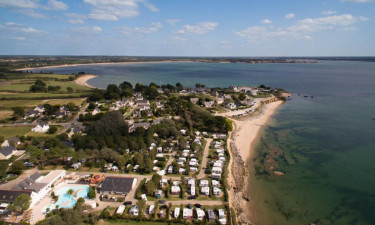 Dejlig campingplads i Bretagne