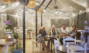 Aktiviteter, shop og restaurant