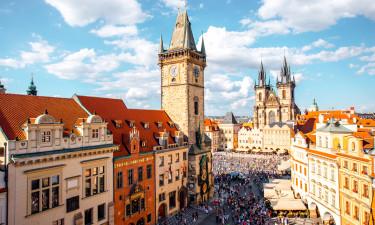 Storbyliv i Prag