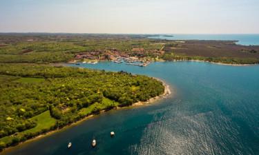 Poreč på Kroatiens kyst