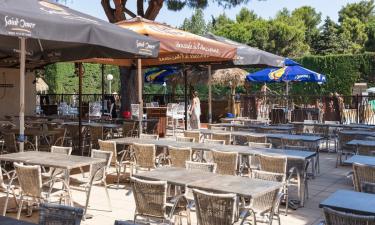 Bar, indkøb og restaurant