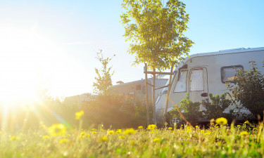 Camping ved Loirefloden
