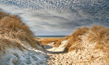 Sandstrand, sejlads og ravjagt