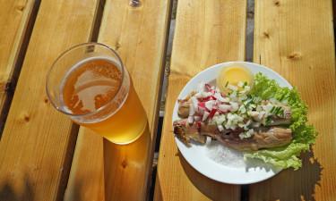 Tag på ultra kort frokosttur til Christiansø