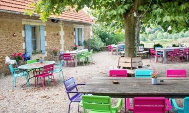 Restaurant Camping Lestaubière in der Dordogne