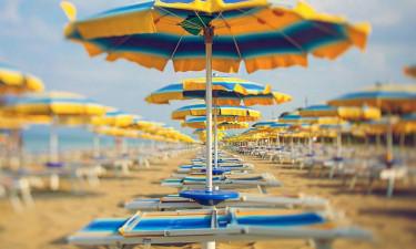 Tæt på privat strand