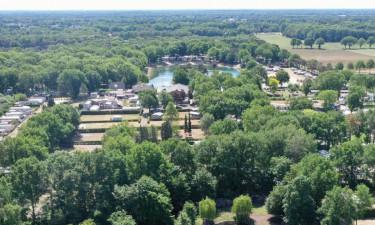 Camping med rekreativ badesø