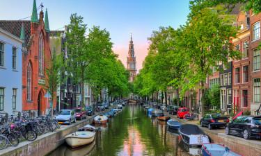 Oplev camping og Amsterdam, Prag eller Hamborg