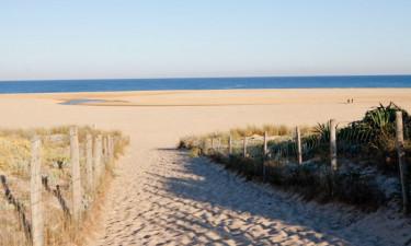 Gå direkte til stranden
