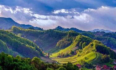 Skønt områder og smuk natur