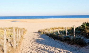 Strand Camping Le Saint Martin in Süd-West Frankreich