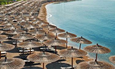 Direkte til fem fantastiske strande