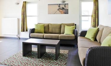 Bo i et hyggeligt feriehus