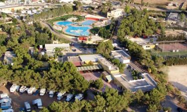 Camping La Masseria i Puglia