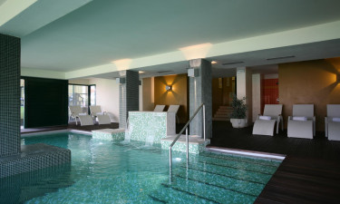 Pool og wellness område