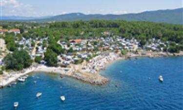 Camping Krk på den kroatiske ø Krk
