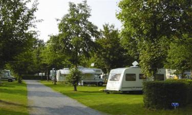 Camping med god placering