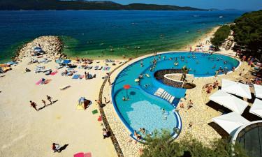 Strand, pool og spa