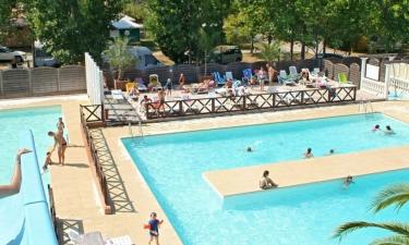 Camping Le Fréjus an der Côte d'Azur