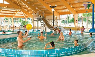 Indendørs vandland, spa & sauna