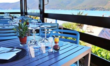 Restaurant Camping Casa dei Prati auf der Insel Elba
