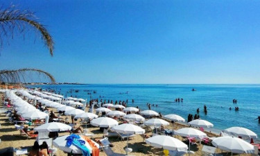 Strand Camping Lilybeo Village in Sizilien