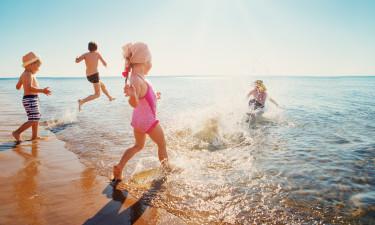 Derfor skal I vælge strandferie og camping