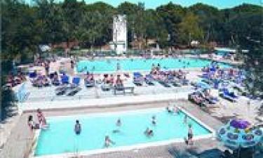 Skønt poolområde og privat strand