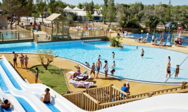 Camping La Cote des Roses in Languedoc