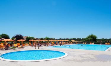 Pool Camping Villaggio Mare Verde in der Toskana