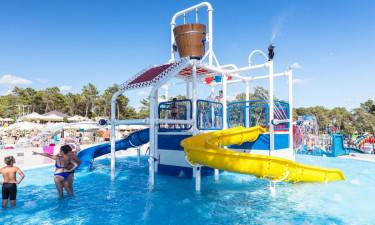 Stort og flot poolområde