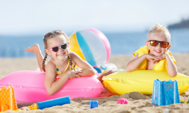 Børnevenlig strand