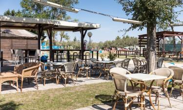Restaurant samt strand- og poolbar