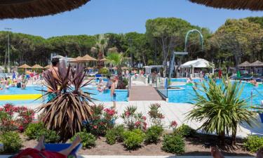 Camping Ca'Pasquali ved Adriaterhavet