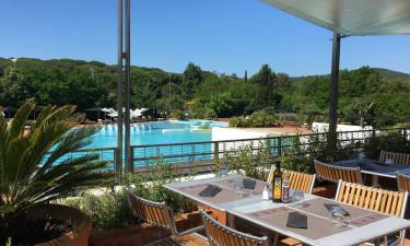 Imponerende poolområde