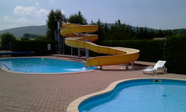 Camping med pool