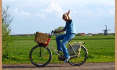 Cykelture i området