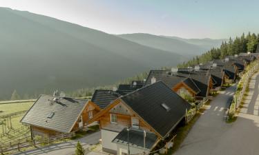 Bo i charmerende ferieboliger på Katschberg