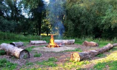 Camping't Geuldal in grünen Limburg