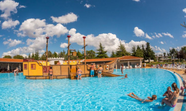 Pool Camping Park Umag in Istrien