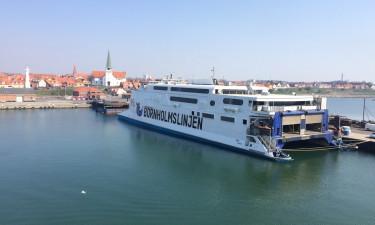 Færgen til Bornholm med Friferie