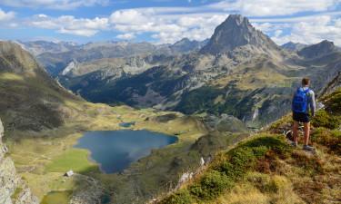 Camping i Pyrenæerne
